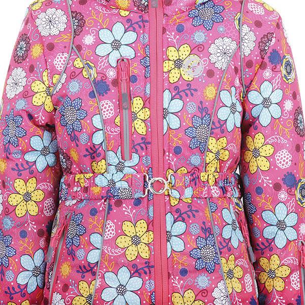 Костюм детский утеплённый (девочки) М-191 (Цветы)