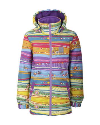 Куртка детская демисезонная (девочки) М-198 (Радуга)