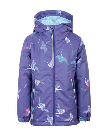 Куртка детская демисезонная (девочки) М-214 (Журавли)